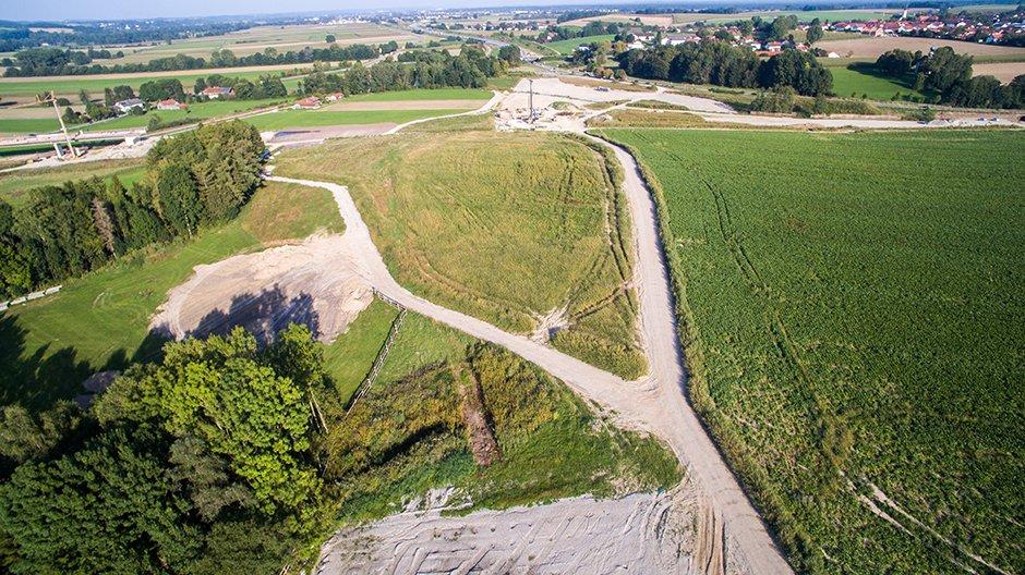 A94 Luftaufnahme September 2011