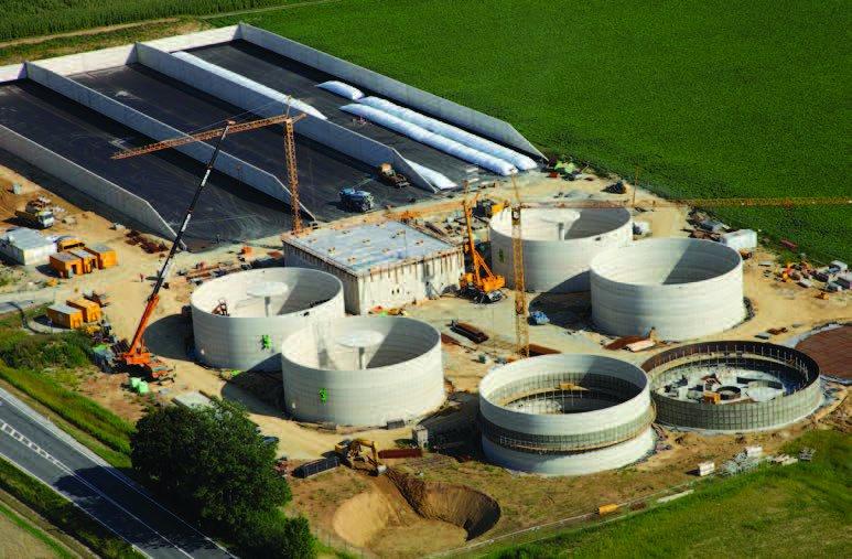 Neubau der Biogasanlage Aicha bei Osterhofen