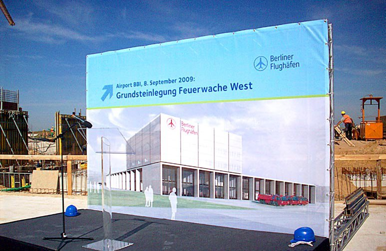 Neubau der Feuerwache Flughafen Berlin Brandenburg (BBI)