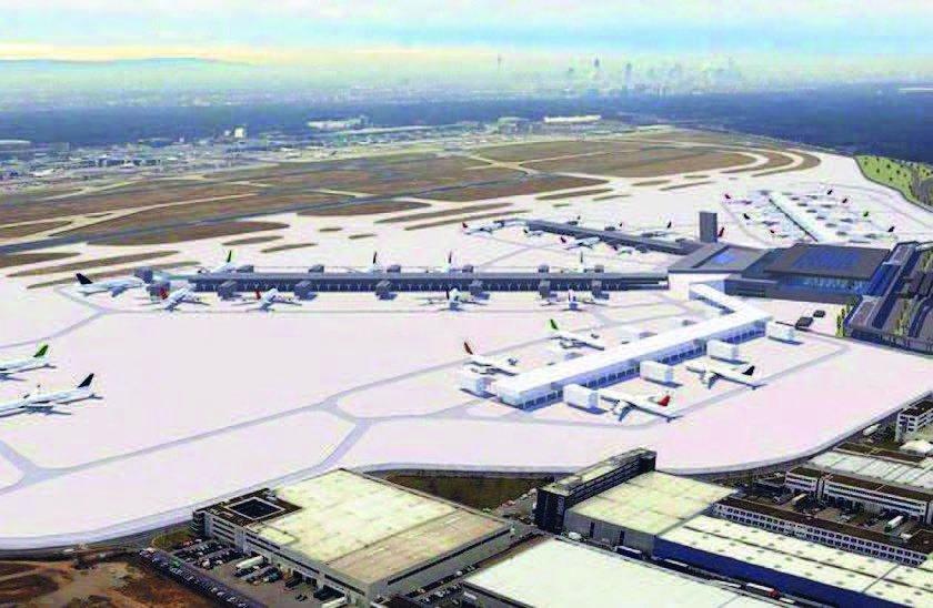 Ausbau des Frankfurter Flughafens