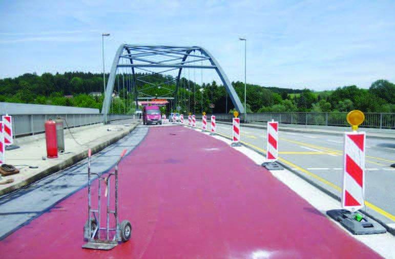 Franz-Josef-Strauß-Brücke in Passau