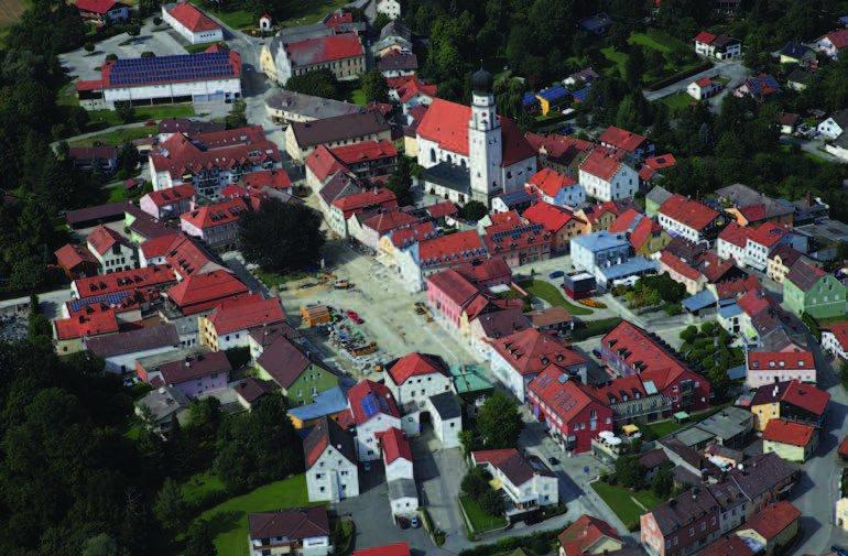 Neugestaltung des Stadtplatzes Bad Griesbach