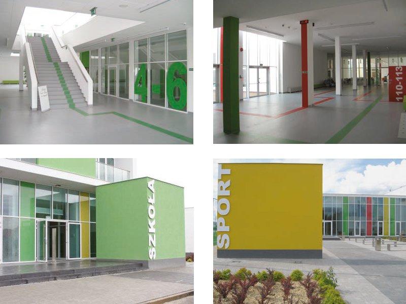 Budowa Zespołu Szkolno – Przedszkolnego z częścią rekreacyjno – sportową