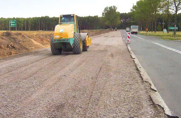 Modernisierung der Nationalstraße Nr. 24 zwischen Pniewy – Skwierzyna, Los Kamionna-Goraj