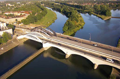 Warschauer Brücken Wrocław